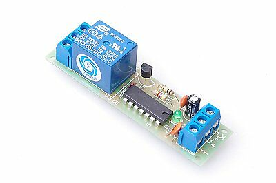 SMAKN DC 5V High Level Trigger Switch Latching Relay Module / 10A load can be