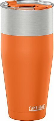 Camelbak Kickbak Vacuum Insulated Travel Tea Coffee Mug Tumbler, 600ml, Bonfire