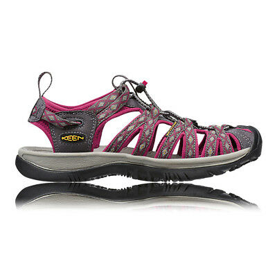 Keen Whisper Womens Pink Grey Walking Hiking Sports Sandals Summer Shoes