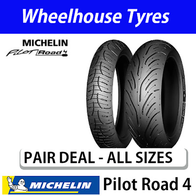 Michelin Pilot Road 4 Standard Pair Deal - All Sizes