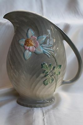 Antique Staffordshire Hand Painted Shorter & Son Flower Vase England