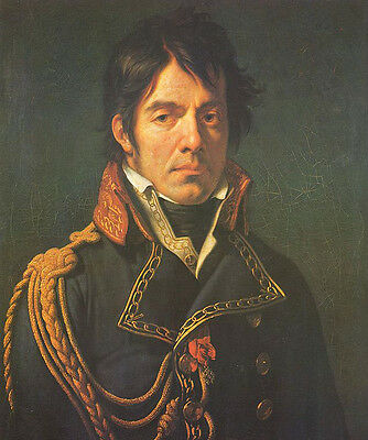 Dominique Jean Larrey Male Oil Painting French surgeon in Napoleon's Grand Armée