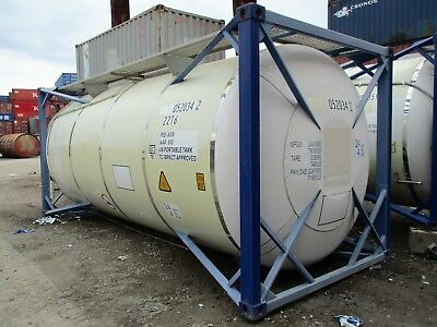 20' iso tank container for sale or lease