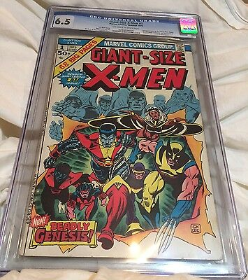 Giant Size X-Men 1 CGC 6.5 First 1st Appearance Of New Team, Storm, Colossus