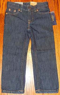 POLO RALPH LAUREN AUTHENTIC TODDLERS/KIDS BOYS BRAND NEW JEANS Size 6T, NWT