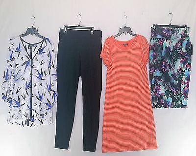 Wholesale Lot of 34 High End Brand Name Womens Apparel Clothing New Manifested