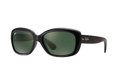 Ray-Ban RB4101 Jackie Ohh 601 Black Frame/Green Classic G-15 Lens 58mm