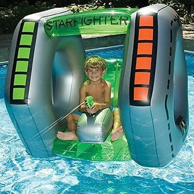 Inflatable Pool Toy Kids Squirt Gun Play Water Home Swimming Blow Up Raft New
