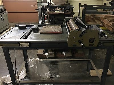 Printasign Proof Press Like Vandercook