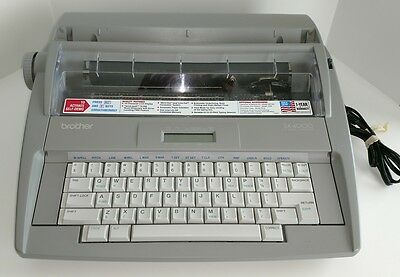 Brother Sx-4000 Electronic Typewriter W/dictionary Lcd Display