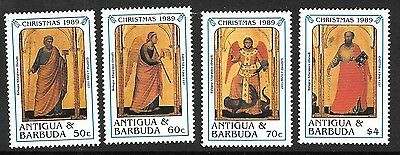 Antigua Sg1351/8 1989 Christmas  Part Set  Mnh