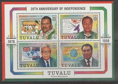 Tuvalu Sgms821 1998 Independence Mnh