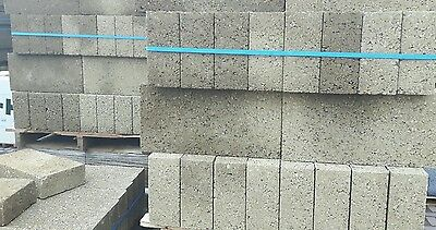 4.8m2 Full Pallet Solid Dense Concrete Block 7.3N 440mm x 215mm x 140mm