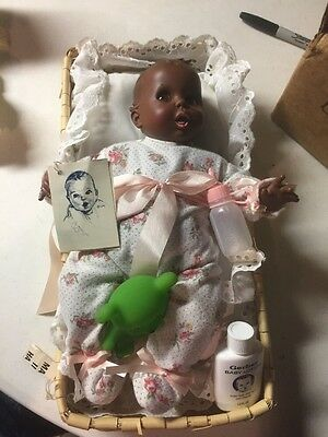 Gerber Baby - African-American Black Doll With  Accessories