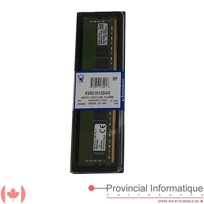 DDR4 8GB 2133 ECC CL15 Kingston KVR21R15S4/8