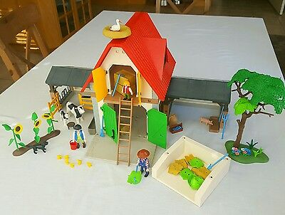 Playmobil 4490 - Animal Farm, with lots of figures and accessories - Country