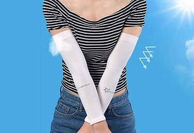 Summer Outdoor Sport Arm Sleeves Cover Cycling UV Sun Protection 1pair