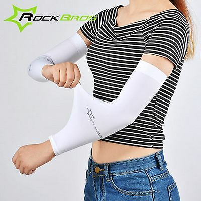Summer Outdoor Sport Arm Sleeves Cycling UV Sun Protection Cover Running Joggin