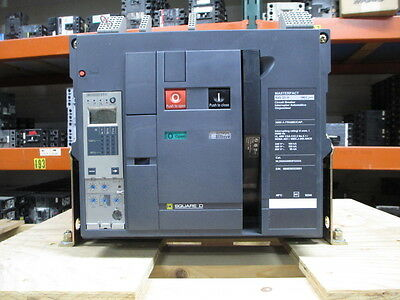 Sq D NW30H Masterpact Breaker 3000A Frame 2500A Rated 600V MO/FM 5.0A W/ LSI New
