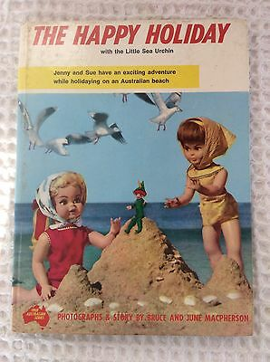Vintage Doll Story Book - The Happy Holiday - True Australian Series
