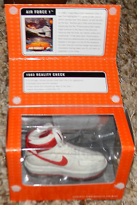 NIKE Classics Bowen Commertative Footwear Air Force 1 White/ Red #57551