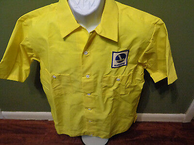 RARE Vintage  Eastern Airlines Airplane/Aviation Work Uniform Shirt SIZE ADULT L