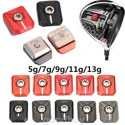 5g 7g 9g 11g 13g set Golf Slide Movable Weight Alloy For Taylormade M1 Driver