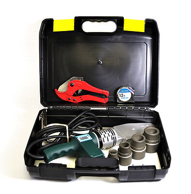 TK-300 NEW Pipe Welding Tool Kit w/4 Adapters- Socket Fusion