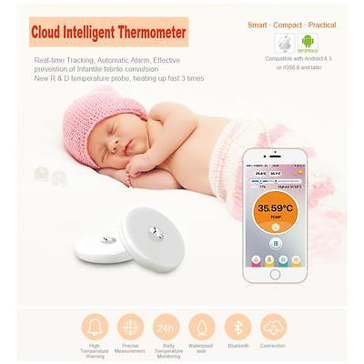 iFever Intelligent Wearable Safe Soft Thermometer Bluetooth Smart Kids Monitor