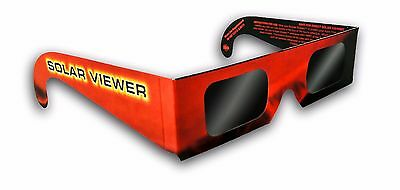 Solar Eclipse Glasses Sun Shades Thousand Oaks Optical Black Polymer Filter