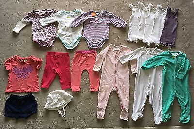 Bundle Baby Girls Clothes Size 0 Bonds Zip, Pumpkin Patch, Jack And Milly Winter