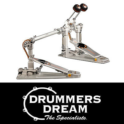 Pearl Demon Chain Drive P3002C Double Bass Drum Pedal RRP $1149.00
