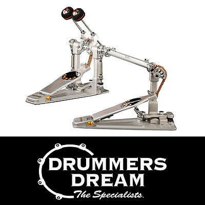 Pearl Demon Chain Drive LEFT FOOTED P3002CL Double Bass Drum Pedal RRP $1149.00