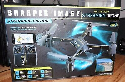Sharper Image Dx 4 Hd Streaming Edition Drone Wwifi 7999 Picclick