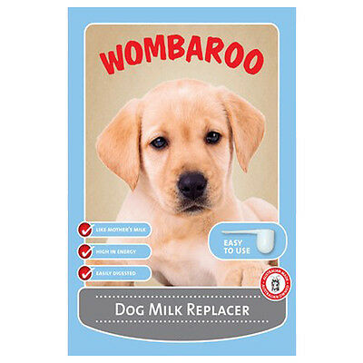 Wombaroo Dog Milk Replacer 215g & 1kg Puppy Food Feed Supplement Powder Food