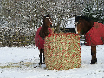 GEE TAC FIELD 4ft ROUND BALE HAYLAGE NET SLOW FEEDER SMALL HOLE