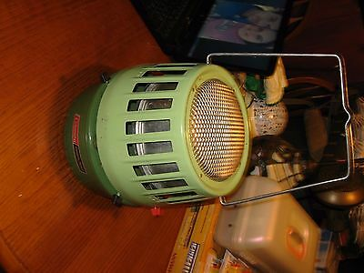 coleman catalytic heater with instruction manual excellent condition model 513a