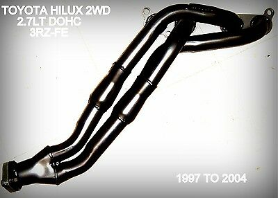 TOYOTA HILUX 3RZ-FE 2.7lt HEADERS / EXTRACTORS 2WD ONLY