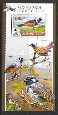 Solomon Islands 2015 Monarch Flycatcher (2) Mnh