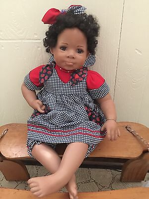 "Marie Osmond 2002 ""Stacey Strawberry"" 15-Inch Toddler Porcelain Doll"