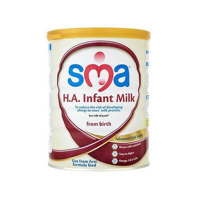 New SMA H.A. Infant Milk from Birth 800g