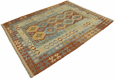 200x153 CM Autentik Kilim Kelem Original Hand Made Classic STYL - EASY TO CLEAN