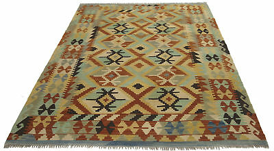 200x155 CM Autentik Kilim Kelem Original Hand Made Classic STYL - EASY TO CLEAN