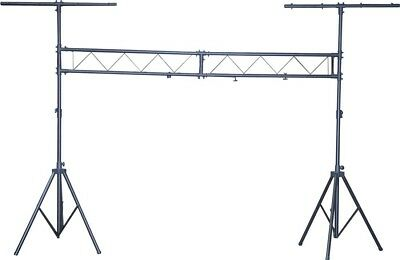 Black 3m Span Steel Lighting Bridge G001YI