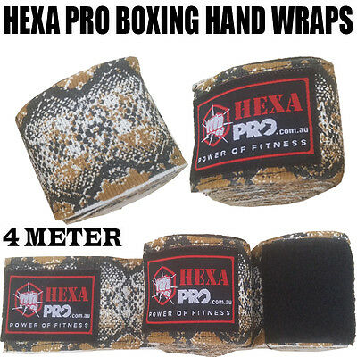 camouflage Hand Wraps Boxing MMA UFC Wrist Guards cotton Bandages gloves straps