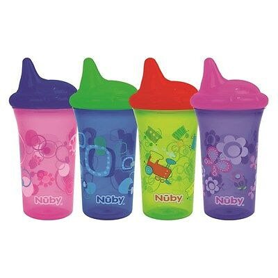 Nuby No Spill Drinking Cup Beaker Baby Toddler Child Bite Proof BPA Free 270ml