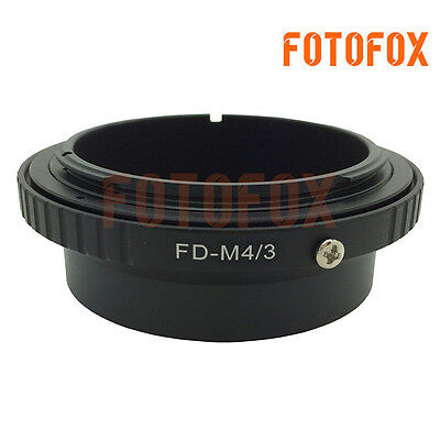 FD-M4/3 Adapter for Canon FD Mount Lens to Micro Four Thirds M4/3 MFT Camera
