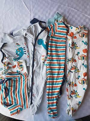 Boys Dinosaur sleepsuits & bodysuits 3-6 months vgc from NEXT