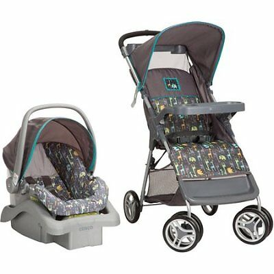 Cosco Lift & Stroll Travel System Baby Infant Toddler Stroller Car Seat Combo