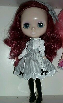 """""""I have Wings"""" Blythe doll fashion schooldays set from 2009 RARE ltd OOAK"""